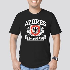 Azores Portugal Men's Fitted T-Shirt (dark)