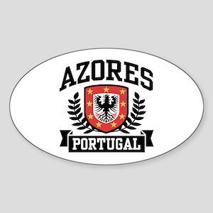 Azores Portugal Sticker (Oval)