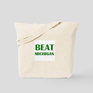 Beat Michigan Tote Bag