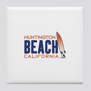 Huntington Beach Tile Coaster