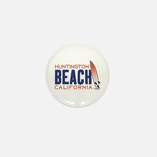 Huntington Beach Mini Button