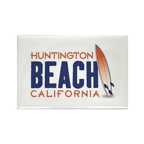 Huntington Beach Rectangle Magnet (10 pack)