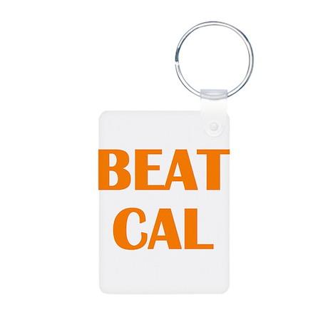 Beat Cal Aluminum Photo Keychain