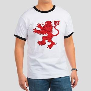 Lion Red Ringer T