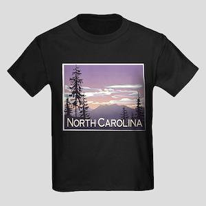 North Carolina Mountains Ash Grey T-Shirt
