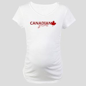 Canadian Girl Maternity T-Shirt