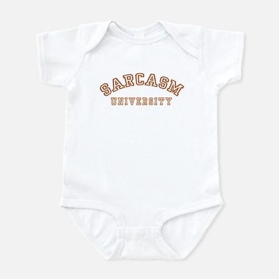 Sarcasm University Infant Bodysuit