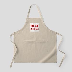 Beat Michigan Apron