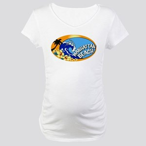 Manhattan Beach Maternity T-Shirt