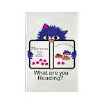 Reading Kitten Rectangle Magnet (100 pack)