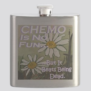 Funny Cancer CHEMO Flask