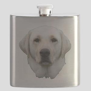 White lab 3 Flask