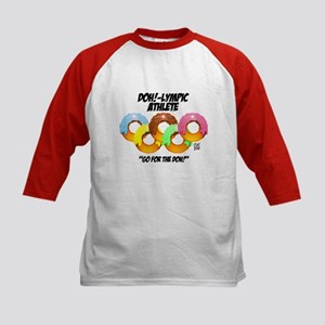"""DOH!-LYMPIC ATHLETE"" Kids Baseball Jersey"