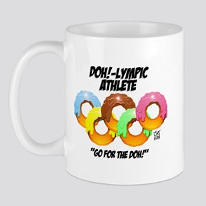 """DOH!-LYMPIC ATHLETE"" Mug"