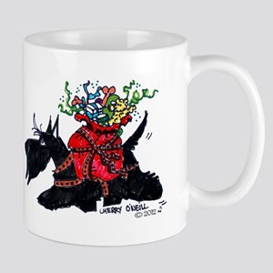 Scotttie Santas Helper Mug