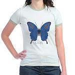 Togetherness Butterfly Jr. Ringer T-Shirt