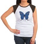 Togetherness Butterfly Women's Cap Sleeve T-Shirt
