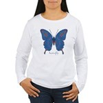 Togetherness Butterfly Women's Long Sleeve T-Shirt