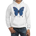 Togetherness Butterfly Hooded Sweatshirt