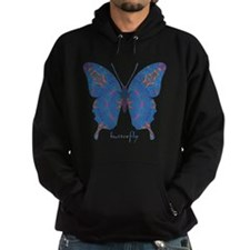 Togetherness Butterfly Hoodie (dark)