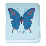 Togetherness Butterfly baby blanket