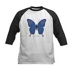 Togetherness Butterfly Kids Baseball Jersey