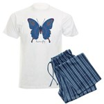 Togetherness Butterfly Men's Light Pajamas