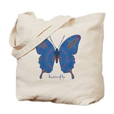 Togetherness Butterfly Tote Bag