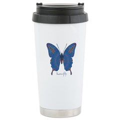 Togetherness Butterfly Stainless Steel Travel Mug