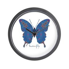 Togetherness Butterfly Wall Clock