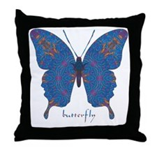 Togetherness Butterfly Throw Pillow