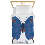 Togetherness Butterfly Twin Duvet