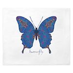 Togetherness Butterfly King Duvet