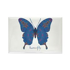 Togetherness Butterfly Rectangle Magnet