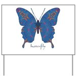 Togetherness Butterfly Yard Sign