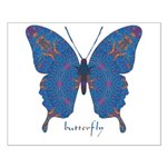 Togetherness Butterfly Small Poster