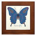 Togetherness Butterfly Framed Tile