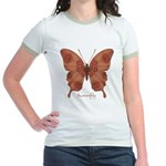 Beloved Butterfly Jr. Ringer T-Shirt