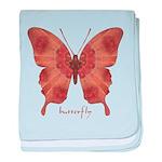 Beloved Butterfly baby blanket