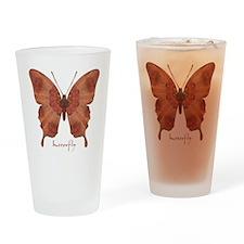 Beloved Butterfly Drinking Glass