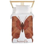 Beloved Butterfly Twin Duvet