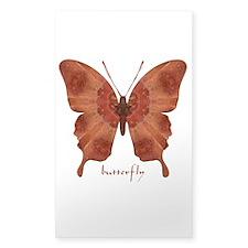 Beloved Butterfly Sticker (Rectangle)