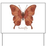 Beloved Butterfly Yard Sign