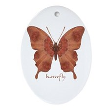 Beloved Butterfly Ornament (Oval)