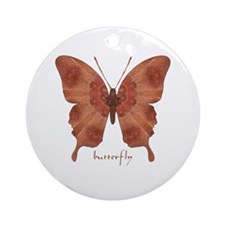 Beloved Butterfly Ornament (Round)