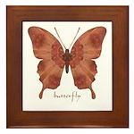 Beloved Butterfly Framed Tile