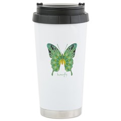 Miracle Butterfly Stainless Steel Travel Mug