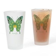 Miracle Butterfly Drinking Glass