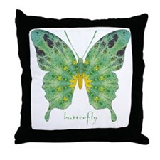 Miracle Butterfly Throw Pillow