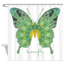 Miracle Butterfly Shower Curtain
